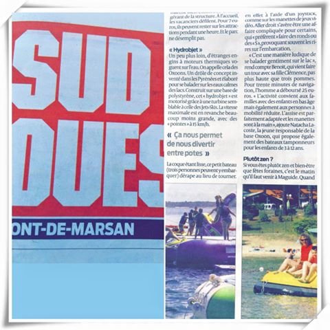 Article sur SudOuest